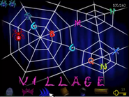 Village spelled out