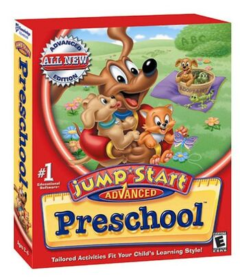 Image of JumpStart Advanced Preschool: Fundamentals.