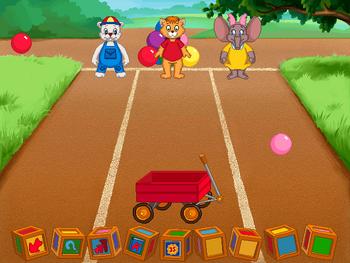 Image of Wagon and Balls.