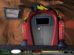 Shrink-O-Matic Entrance