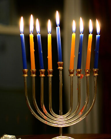 File:Chanukah Candles on the Eighth Night.jpg