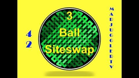 42 ~ Three Ball Siteswap