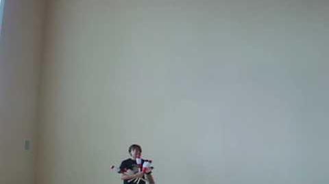 Some juggling from 2007