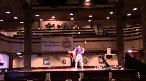 Ty Tojo - World Record 6 ball backcrosses