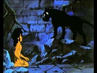 Bagheera proves Mowgli