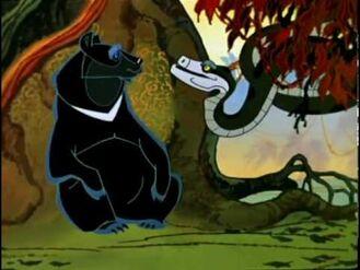 Baloo and Kaa (Maugli)