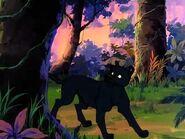 Bagheera stopping Shere Khan