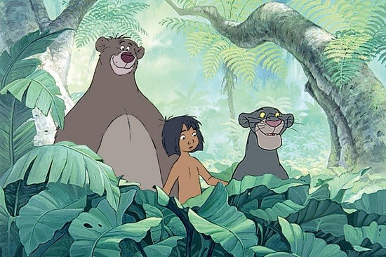File:Mowgli, Baloo and Bagheera (Disney).jpg