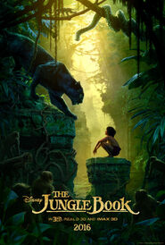 The Jungle Book (2016) Poster -1