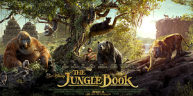 The Jungle Book (2016) Poster -2