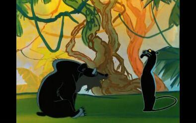 Baloo and Bagheera (Maugli)