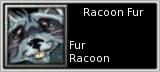 Racoon Fur quick short