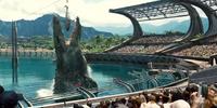 Mosasaurus Feeding Show