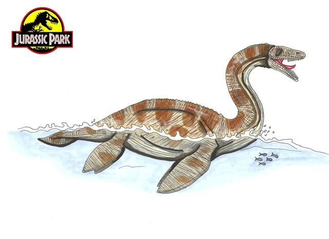 File:Jurassic Park Plesiosaurus by hellraptor.jpg