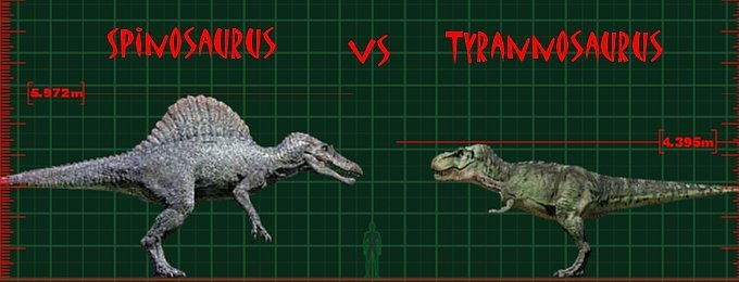 Spinosaurus vs. T. rex Scene | Jurassic Park wiki | Fandom powered ...