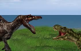 File:T-Rex vs Spinosaurus.jpg