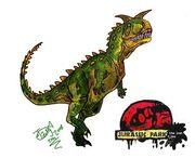 The Lost Files Carnotaurus by HodariNundu