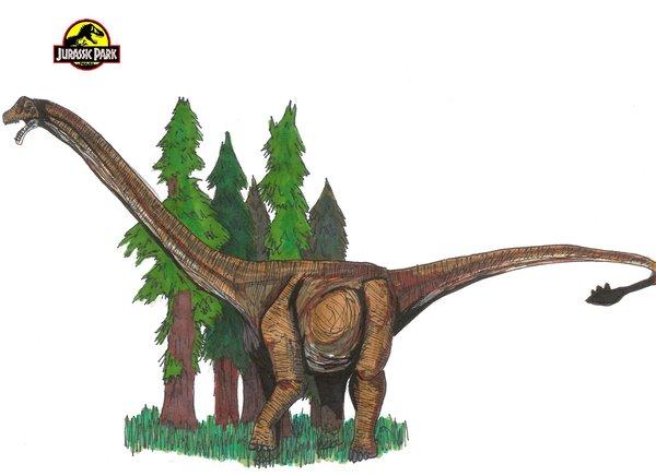 File:Jurassic Park Mamenchisaurus by hellraptor.jpg