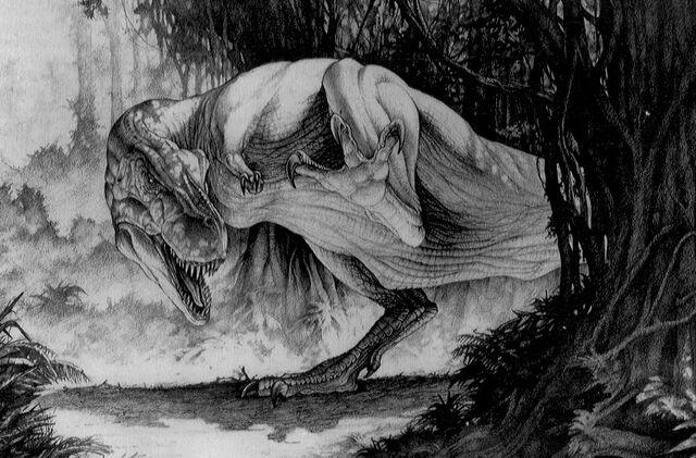 File:JurassicPark-TRexRampage.jpg