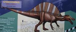 New Spinosaurus JW Fielde Guide