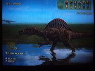 Spinosaurus wandering