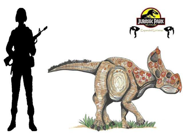 File:Jurassic Park Protoceratops by hellraptor.jpg