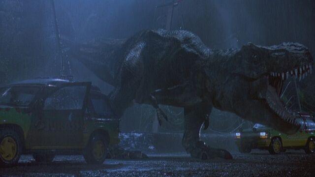 File:Tyrannosaurus Rex Escapes.jpg