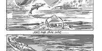 Unidentified ichthyosaur