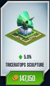 Trike Sculpture Card