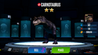 JWTG Carnotaurus evolution level 11 complete