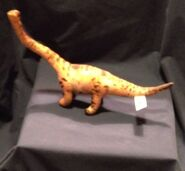 1997 Equity Jurassic Park JP Lost World Mamenchisaurus Plush Figure Plastic 3
