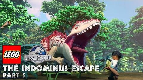 Part 5 LEGO® Jurassic World The Indominus Escape