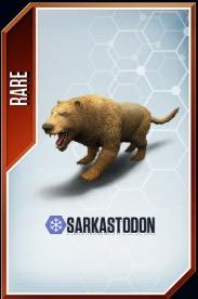 Sarkastodon card
