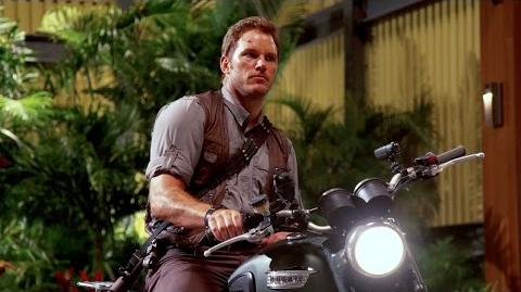 Chris Pratt's Jurassic World Journals Motorcycle (HD)