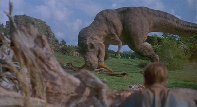 File:Tyrannosaurus Eating.JPG