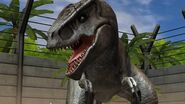 Allosaur in JW game
