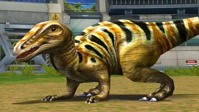 File:Jurassic Park Builder Edmontosaurus Battle Final Evolution.jpg