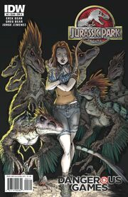 JurassicPark DangeoursGames02 cover