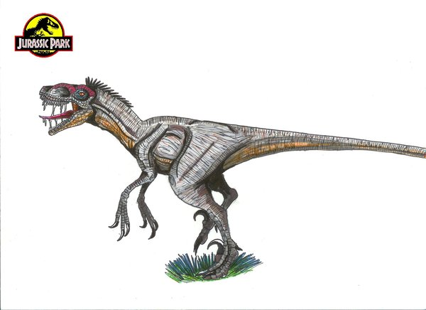 File:Jurassic Park Velociraptor by hellraptor.jpg