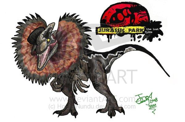 File:The Lost Files Dilophosaurus by HodariNundu.jpg