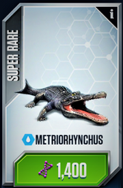 Metriorhynchus Card