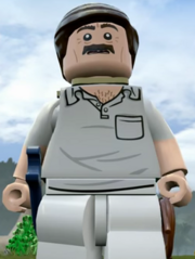Lego Jurassic World Video Game Paul Kirby
