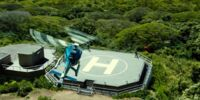 Jurassic World Helipad