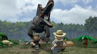 LEGO Jurassic World Spino Chase
