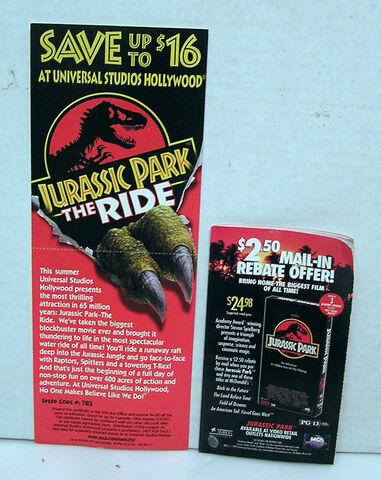File:The Ride Promo Card & VHS Rebate Booklet.jpg
