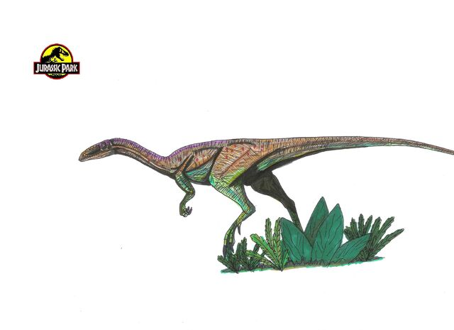 File:Jurassic Park Segisaurus by hellraptor.jpg