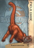 2001 Jurassic Park III 3-D 61 Brachiosaurus front