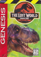The Lost World - Jurassic Park (sega game) us cover