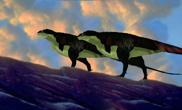File:Tyrannosaurus profile new.jpg