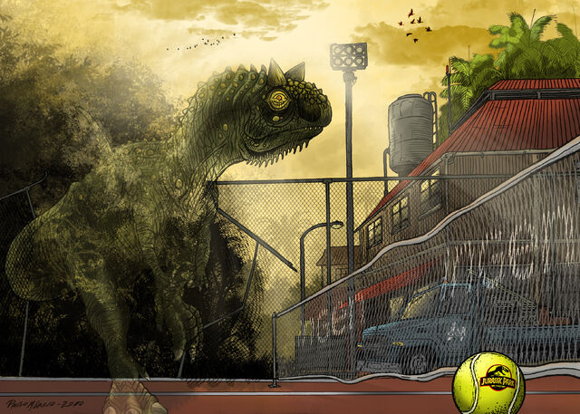 File:Jurassic Park Carnotaurus by pauloomarcio.jpg